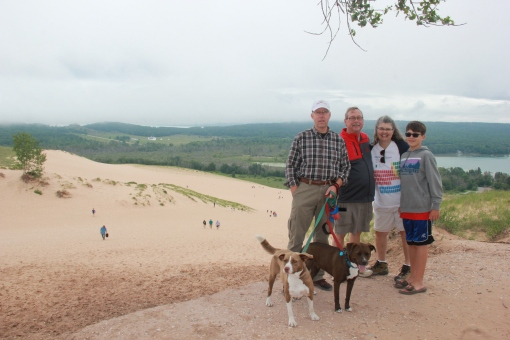 6.23.18 Sleeping Bear Dunes dune climb